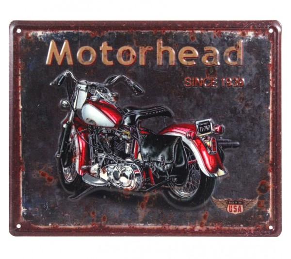 Domidea -  Metalowa tabliczka Motorhead