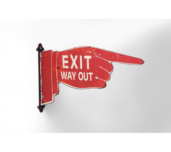 Kare design -  Dekoracja ścienna Sign Post